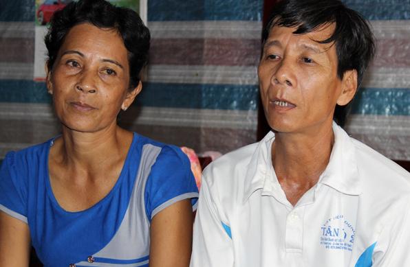Vợ chồng ông Lé đã được giải oan.