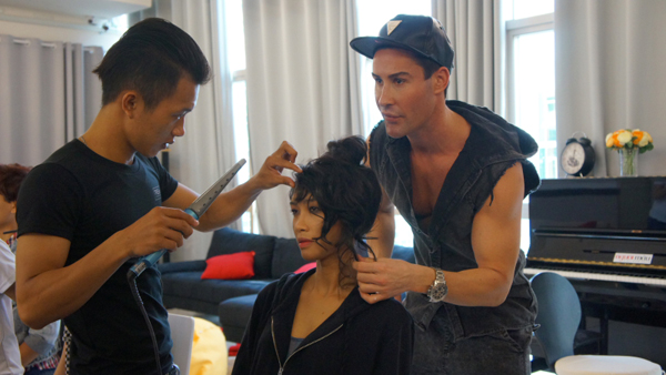 Trong tập 7 của Vietnam's Next Top Model