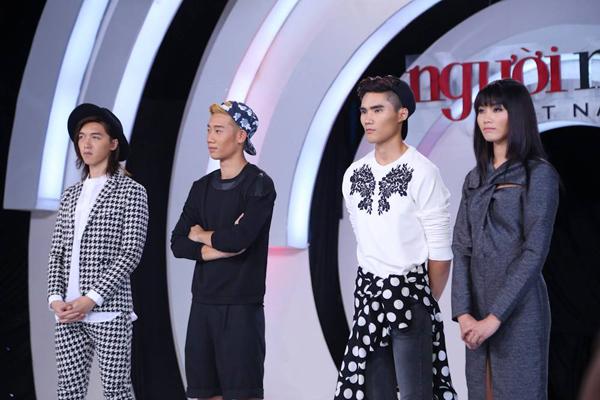 Top 4 rơi vào vòng nguy hiểm là Phạm Tấn Khang, Đăng Khánh, Đức Hùng