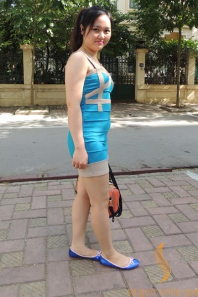 Nàng béo xinh như hot girl sau giảm cân - Làm đẹp