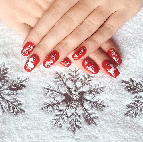 Không khí Giáng sinh ấm áp trên từng ngón tay