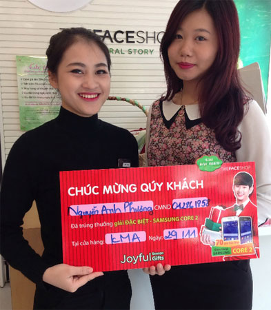 Khách hàng Nguyễn Anh Phương (Hà Nội).
