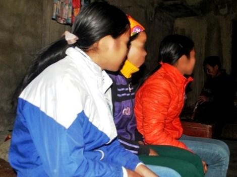 Bé gái 13 tuổi P.T.D., bị anh rể hiếp dâm 4 lần, dẫn đến bị có thai