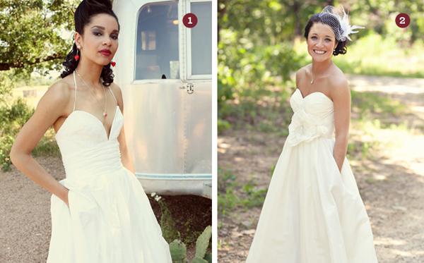 Cô dâu cá tính, hiện đại với váy cưới có túi