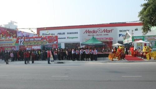 Siêu thị thứ 16 của hệ thống thế giới điện máy MediaMart trên toàn quốc có vốn đầu tư lớn và quy mô hiện đại tại tỉnh Nam Định.