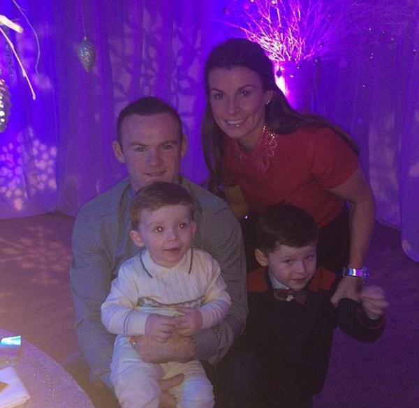 Tổ ấm hạnh phúc của Rooney.