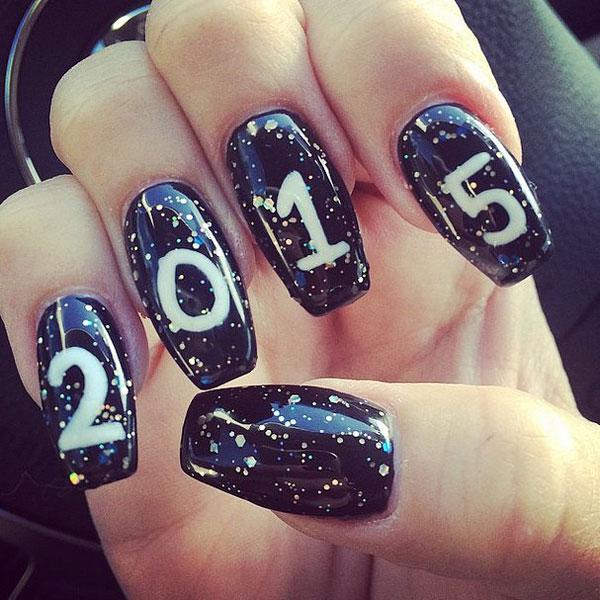 Gợi ý 10 mẫu nail sang trọng chào năm 2015