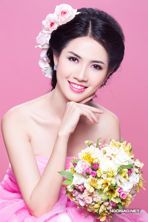 Phan Thị Mơ gợi ý hai kiểu make up cưới trong veo