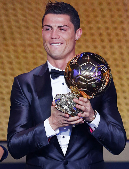 Very proud to win the Ballon dOr for the second time, it means so much to me! I thank my teammates from Real Madrid and Portuguese National Team. It wouldnt be possible without them.