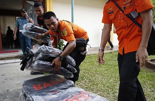 Pangkal Bun, tỉnh Kalimantan, gần khu vực phát hiện mảnh vỡ nghi của máy bay.