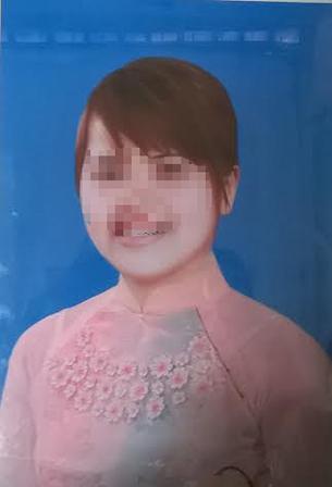 Di ảnh nạn nhân Trần Thị Vy