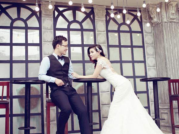 Ảnh cưới ngọt ngào của Sao Mai Bùi Lê Mận
