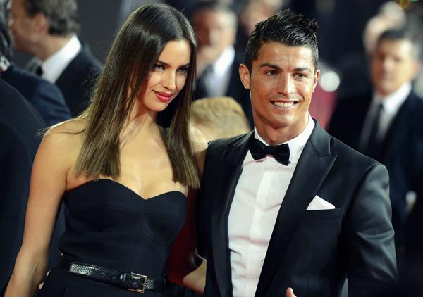 Lý do Irina vắng mặt trong ngày vui của C. Ronaldo