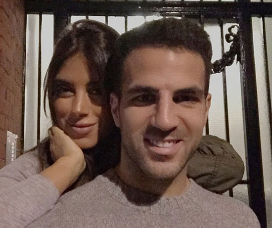Fabregas và Daniella Semaan vẫn gắn bó sau 4 năm bên nhau, bất chấp mọi lời dị nghị, đồn đoán.