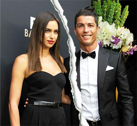 Irina Shayk xác nhận đã chia tay C. Ronaldo