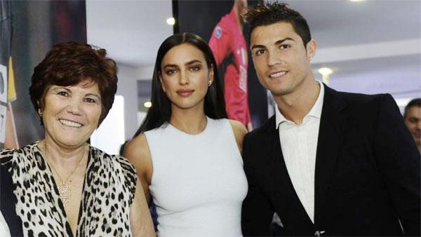 Irina và mẹ C. Ronaldo nhiều lần mâu thuẫn