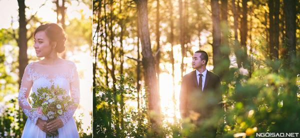 Cặp đôi chụp ảnh cưới bay bổng ở Gia Lai