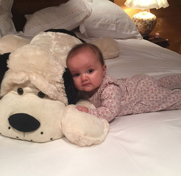 Tamara khẳng định, Sophia sẽ khóc không ngừng khi không được ngủ cạnh mẹ mỗi đêm.