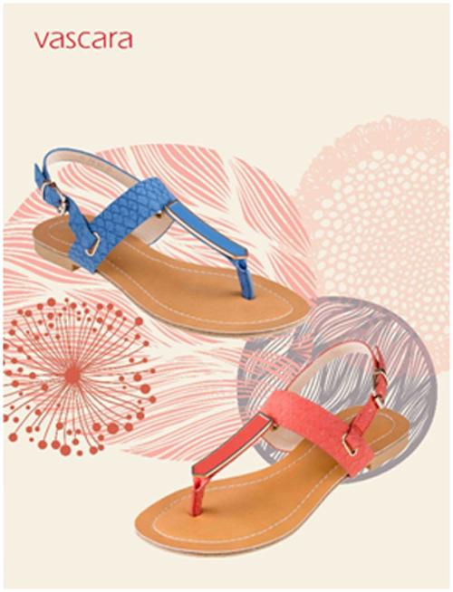 Không chỉ sandal cao gót, sandal đế bệt với chi tiết kim loại của mẫu sandal SDK 218 trông sang trọng và thời trang hơn.