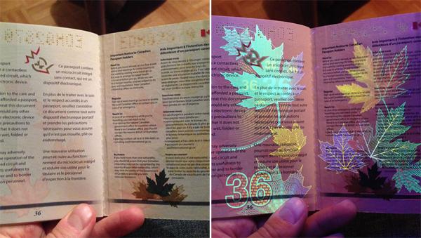 Hộ chiếu dộc dao của Canada