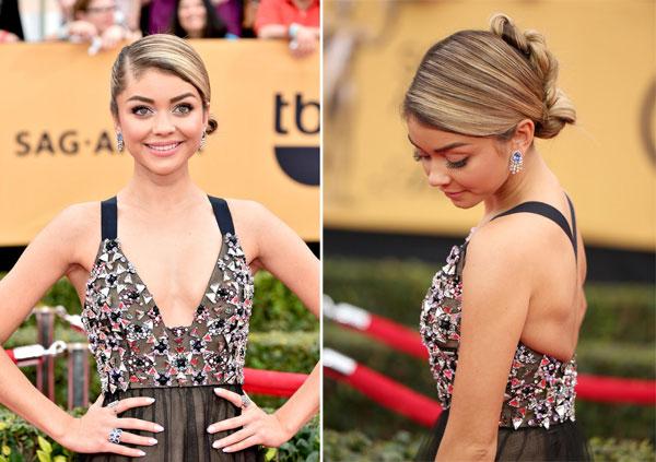 Những kiểu tóc đẹp quyến rũ của sao Hollywood tại SAG Award