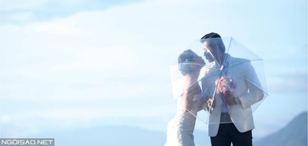 Ảnh cưới ngọt ngào của người mẫu Võ Hoàng Phi