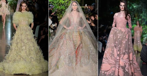 Váy cưới xa xỉ tại Tuần thời trang Paris Haute Couture