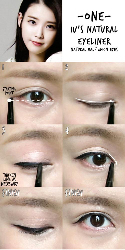 Học lỏm những kiểu vẽ mắt sao Hàn đặc biệt cuốn hút