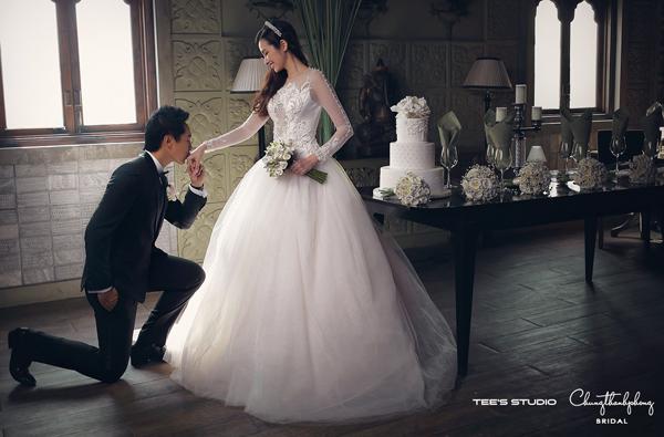 Váy chụp ảnh cưới và váy phù dâu của Trúc Diễm