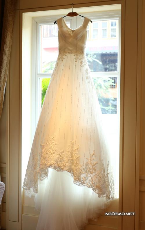 Chiếc váy cưới đặc biệt của Trúc Diễm