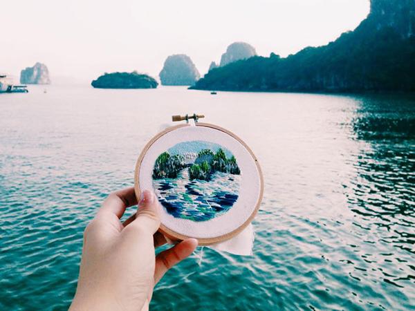 Vịnh Hạ Long, Việt Nam.