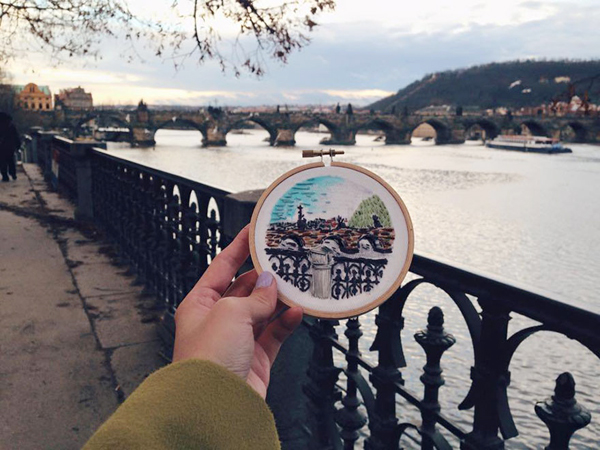 Cầu Charles, Prague, CH Czech.
