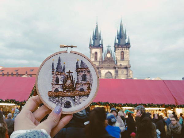 Thành phố Prague, CH Czech.