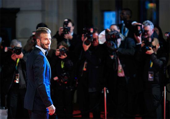 Lần đầu bước trên thảm đỏ BAFTA