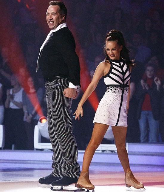 Cặp đôi nảy sinh tình cảm sau khi cùng tham gia thi khiêu vũ trên băng năm 2008.