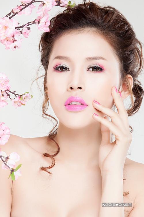 Kim Yến gợi ý make up cưới theo sắc hoa xuân