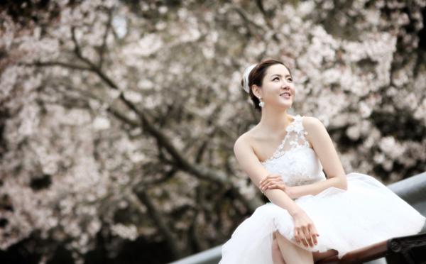 Ảnh cưới tuyệt đẹp ở đảo Jeju mùa xuân