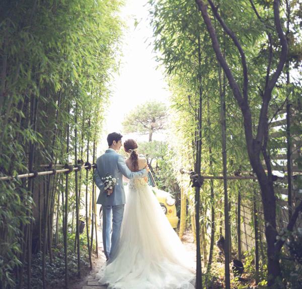 Bộ ảnh cưới Hàn Quốc đẹp trong veo