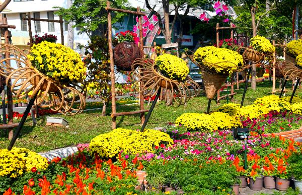 Хошимин украсит 720-метровая улица цветов