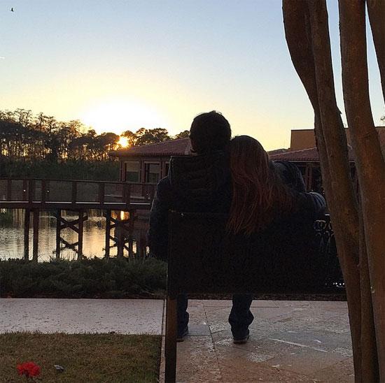 Valentine lãng mạn và đơn giản của vợ chồng Kaka.