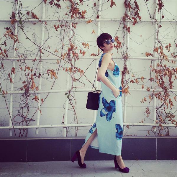 Sao Việt mê mẩn với trang phục in họa tiết