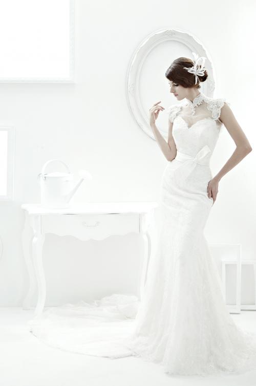 váy cưới ôm sang trọng, tinh tế