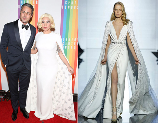 Váy cưới độc đáo cho `nàng lắm chiêu` Lady Gaga