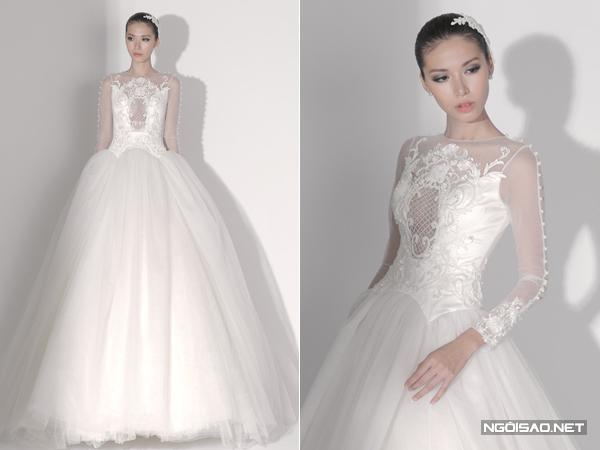 Top 10 váy cưới Việt nổi bật tháng 2