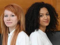 Cặp song sinh da trắng và da màu