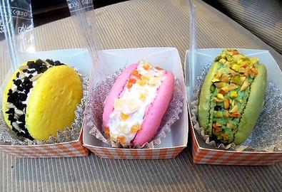 Một vòng quanh Seoul ăn macaron kem lạnh