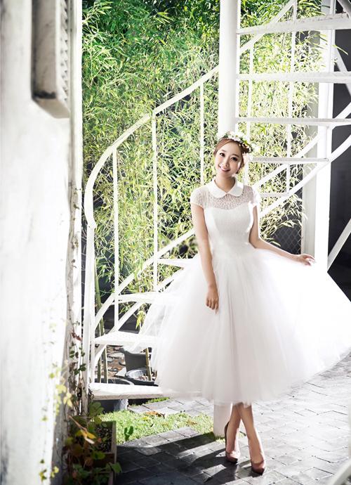 Những ưu điểm nổi bật của váy cưới ngắn