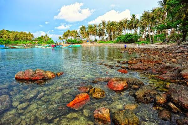 Một góc tuyệt đẹp của đảo Nam Du. Ảnh: toidi24h.