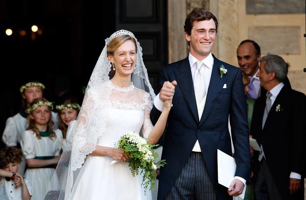 Cô dâu Elisabetta Maria Rosboch von Wolkenstein kết hôn với hoàng tử Amedeo của Bỉ vào tháng 7/2014