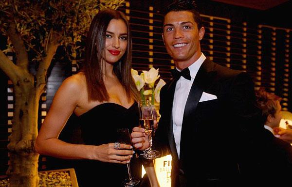 C. Ronaldo và Irina kết thúc chuyện tình 5 năm trong sự tiếc nuối của nhiều fan.